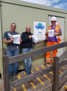 100% Pass rate on our CPCS telescopic handler course