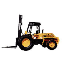 A14 Rough Terrain Forklift